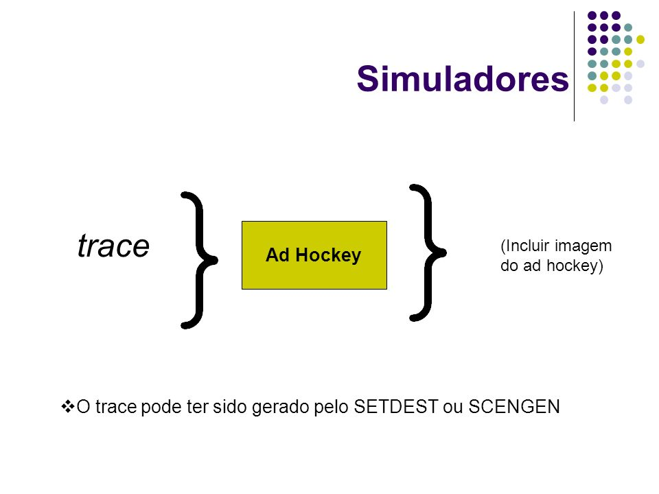 Simuladores trace Ad Hockey