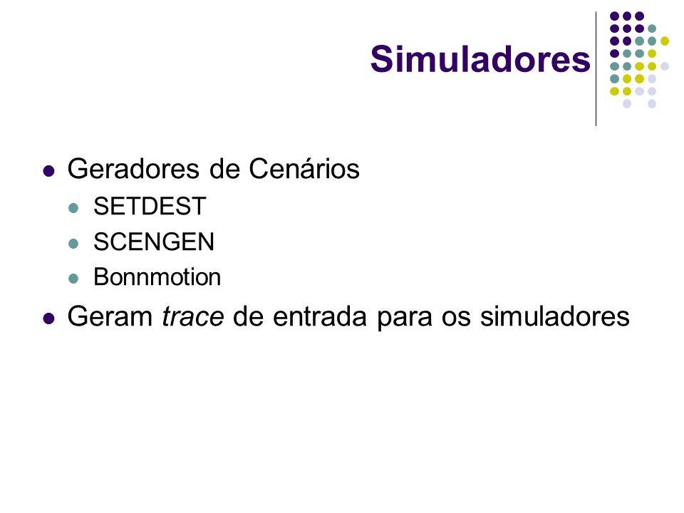 Simuladores Geradores de Cenários