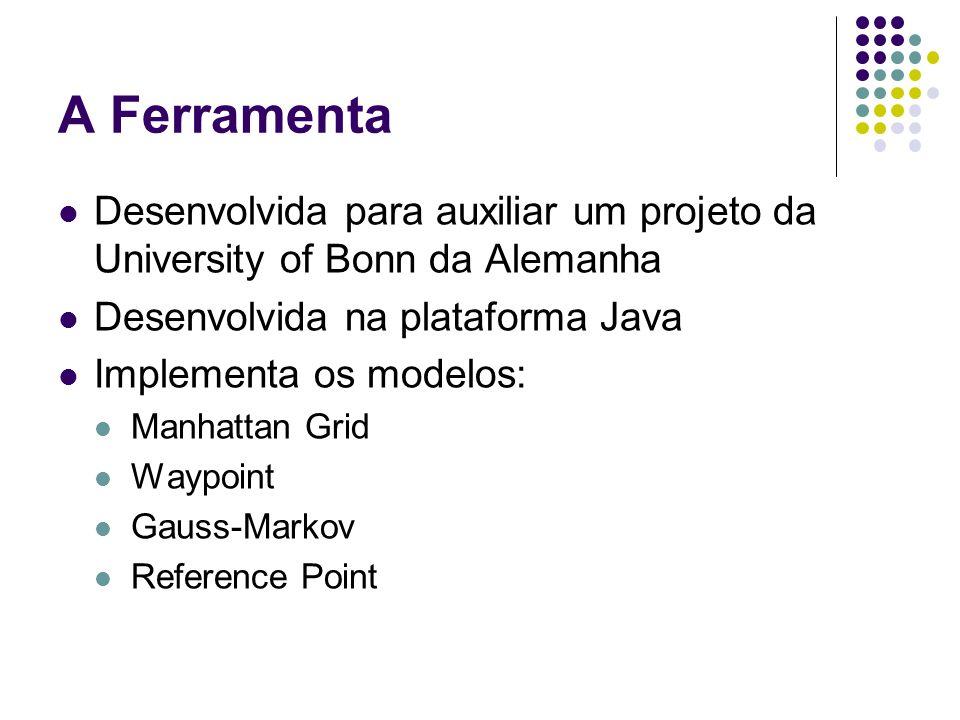A Ferramenta Desenvolvida para auxiliar um projeto da University of Bonn da Alemanha. Desenvolvida na plataforma Java.