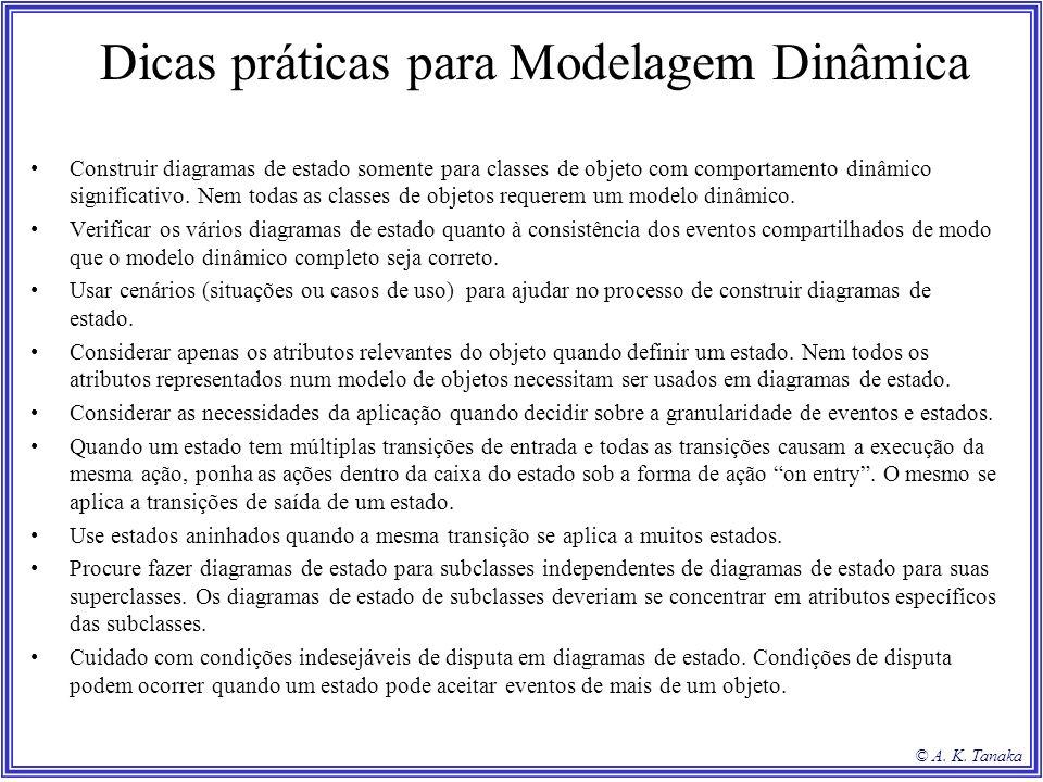 Dicas práticas para Modelagem Dinâmica