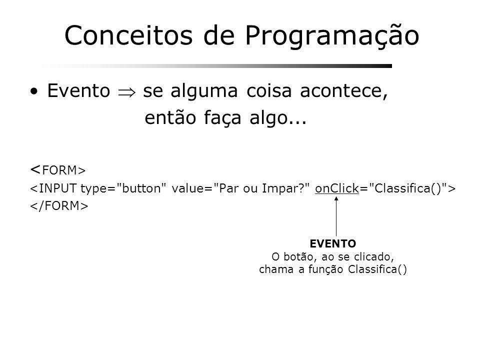 Conceitos de Programação