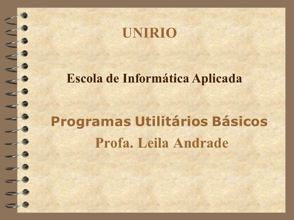 Programas Utilitários Básicos