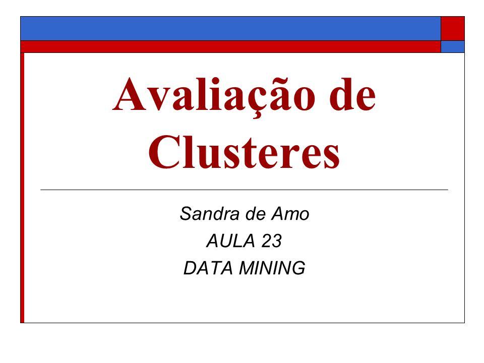 Avaliação de Clusteres