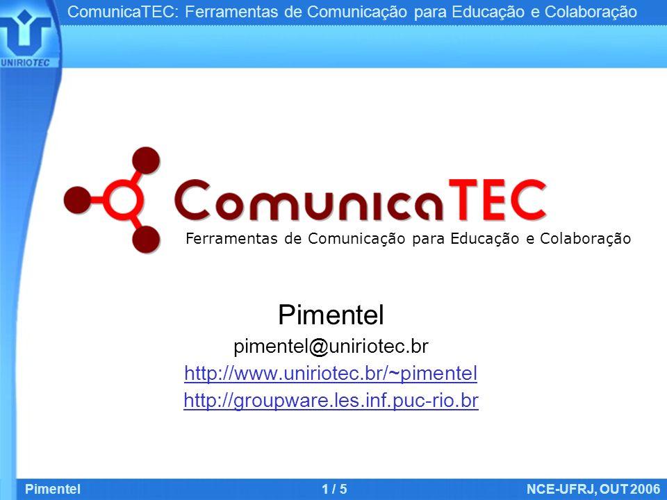Ferramentas de Comunicação para Educação e Colaboração