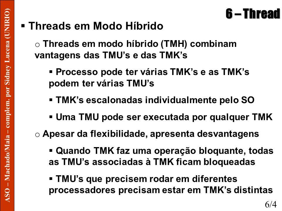 6 – Thread Threads em Modo Híbrido