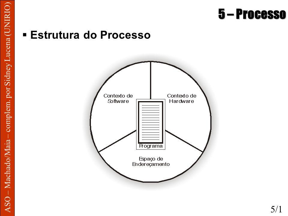 5 – Processo Estrutura do Processo 5/1