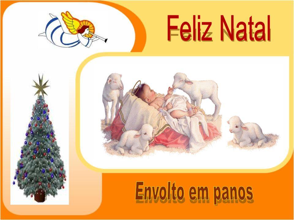 Feliz Natal Envolto em panos