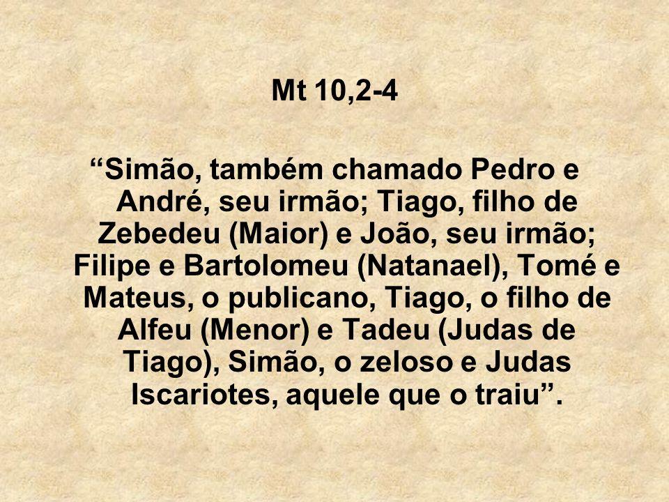 Mt 10,2-4