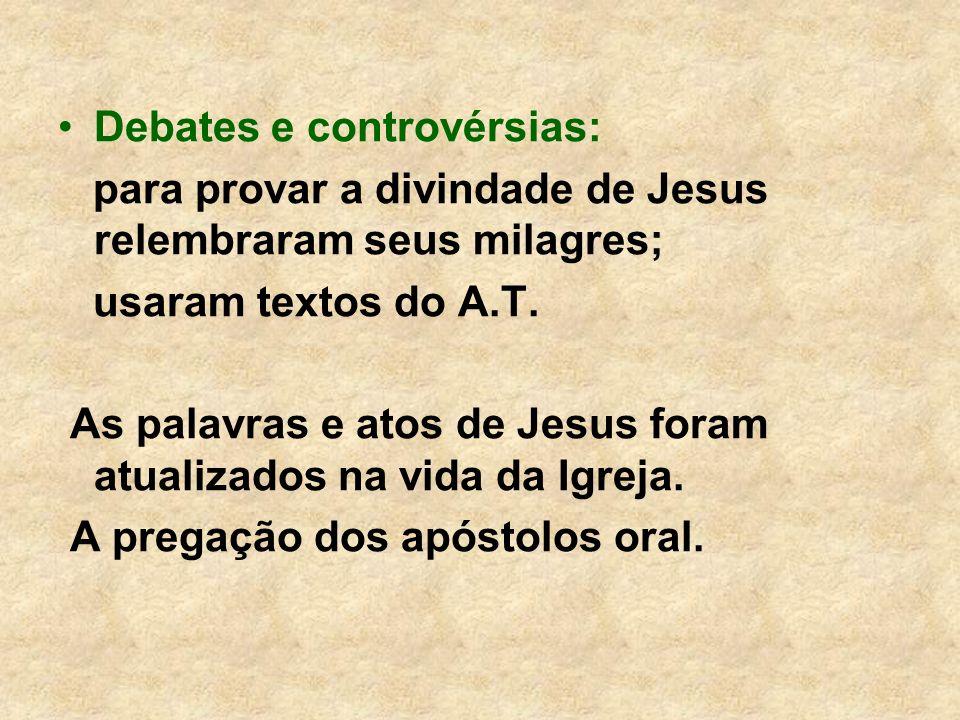 Debates e controvérsias: