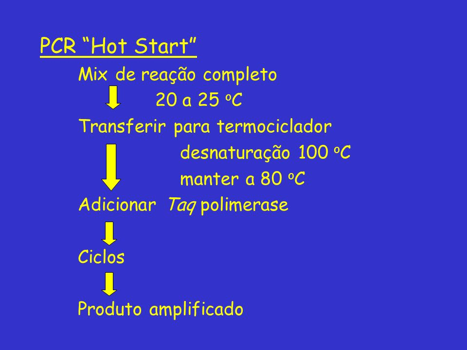 PCR Hot Start Mix de reação completo 20 a 25 oC
