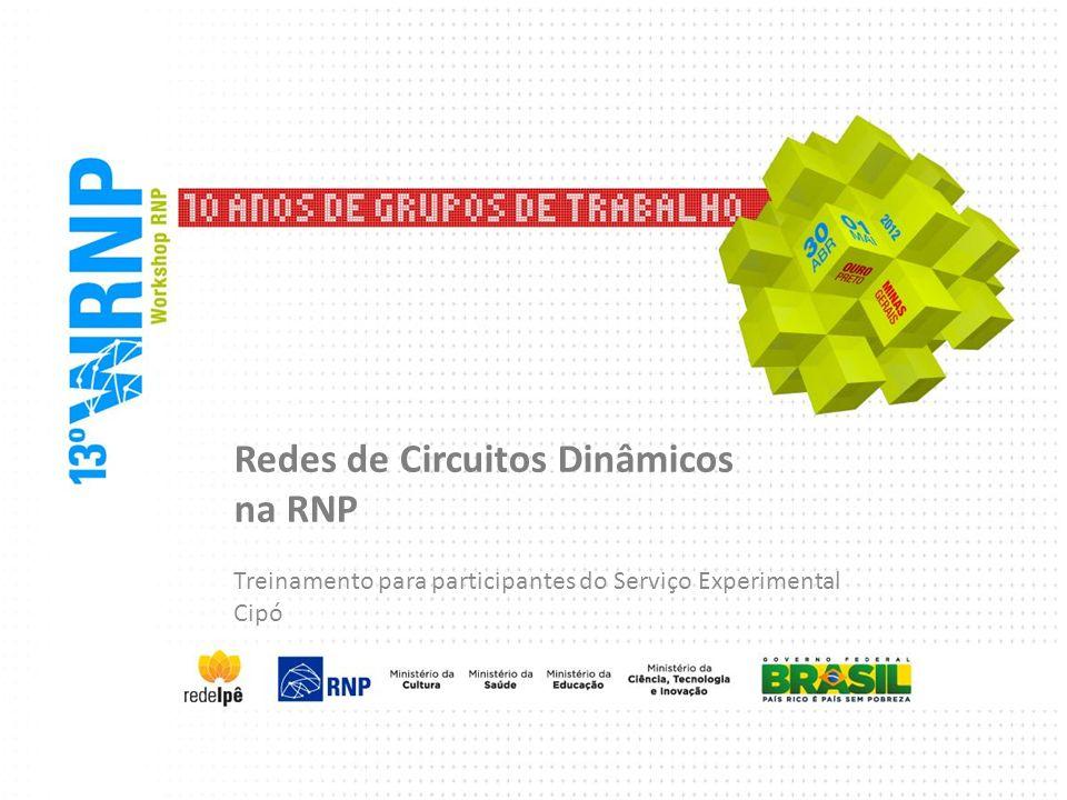 Redes de Circuitos Dinâmicos na RNP