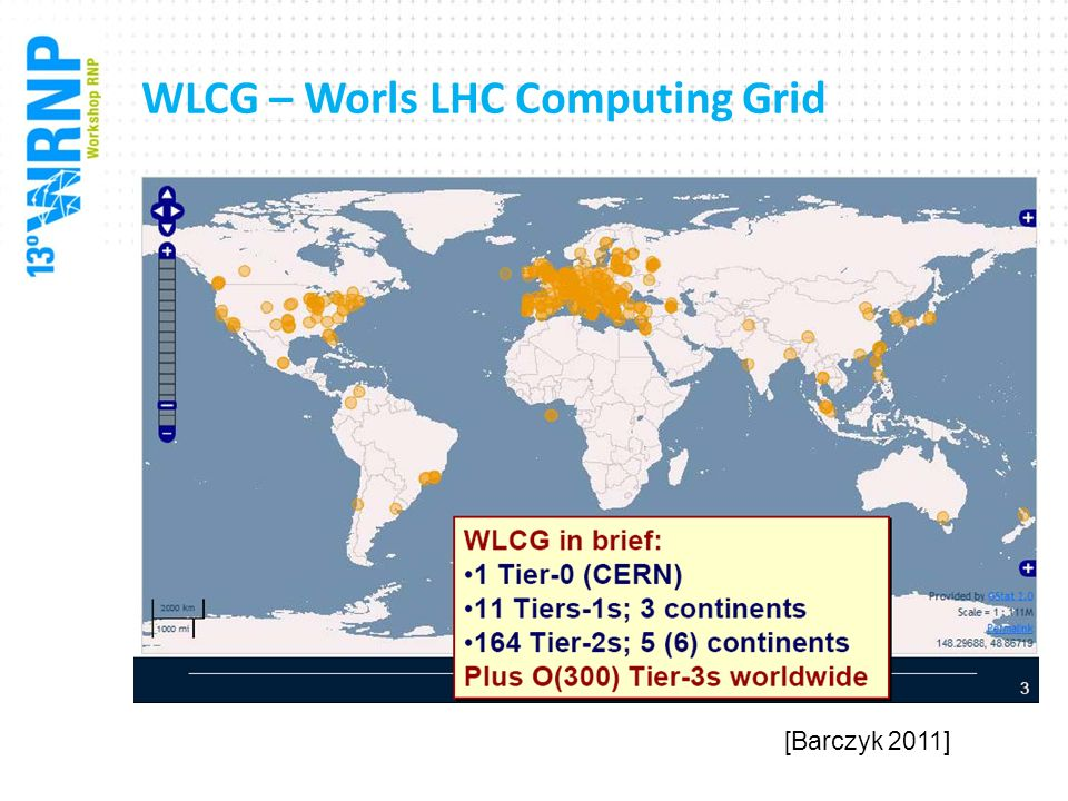 WLCG – Worls LHC Computing Grid