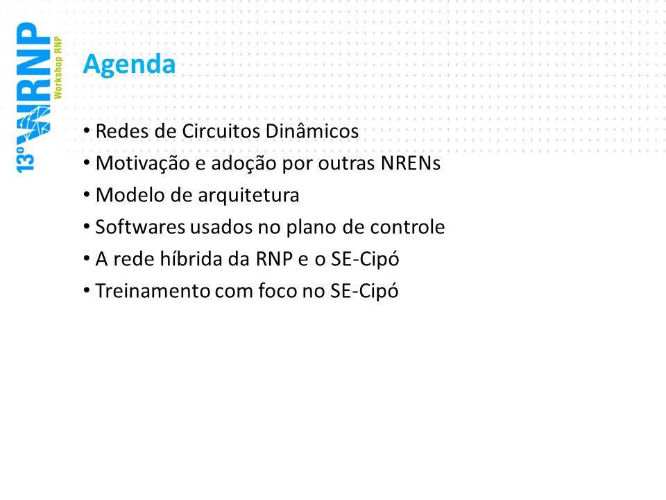 Agenda Redes de Circuitos Dinâmicos