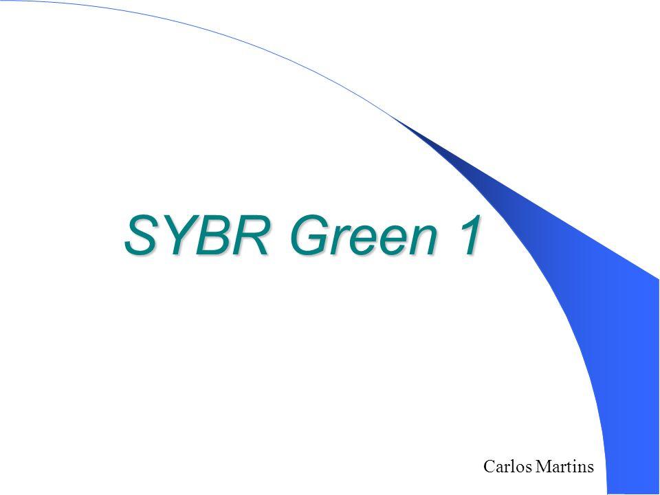 SYBR Green 1 3/25/2017