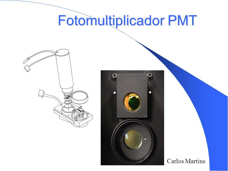 Fotomultiplicador PMT