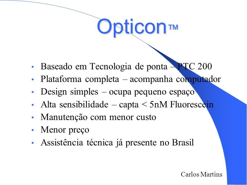 Opticon™ Baseado em Tecnologia de ponta – PTC 200