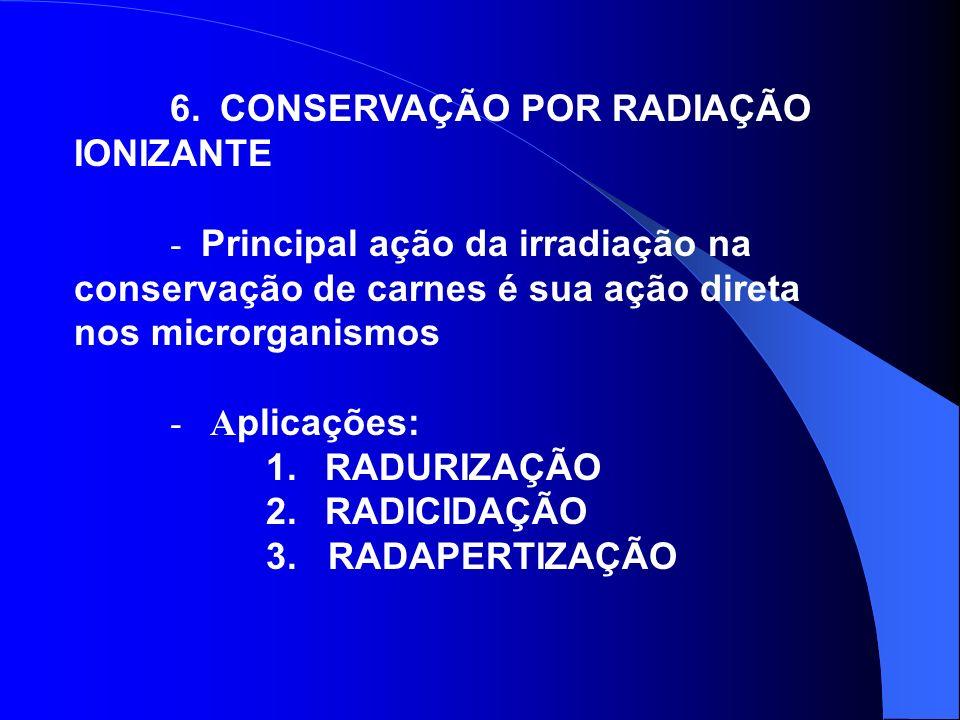 6. CONSERVAÇÃO POR RADIAÇÃO IONIZANTE