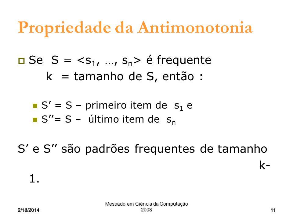 Propriedade da Antimonotonia