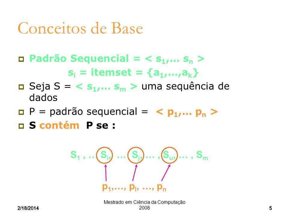 Mestrado em Ciência da Computação 2008