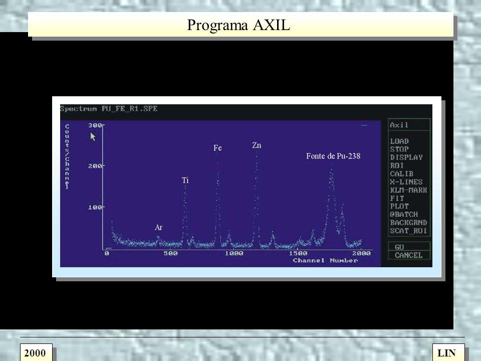 Programa AXIL 2000 LIN