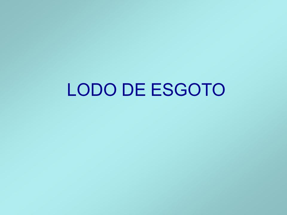LODO DE ESGOTO