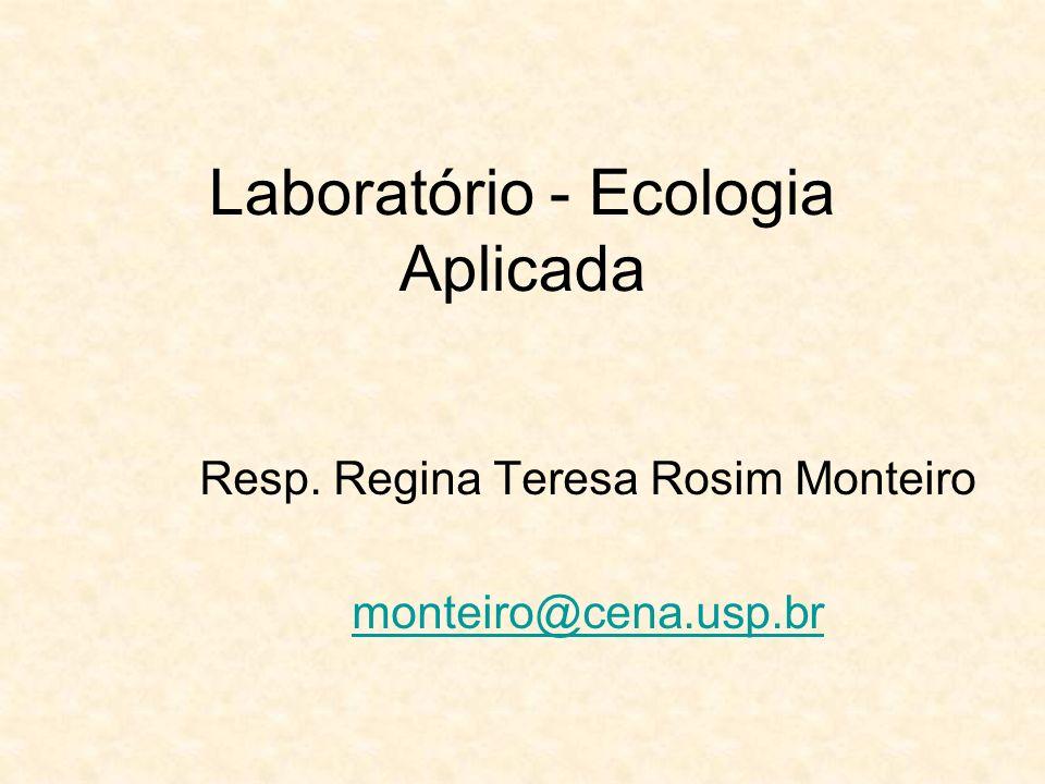 Laboratório - Ecologia Aplicada