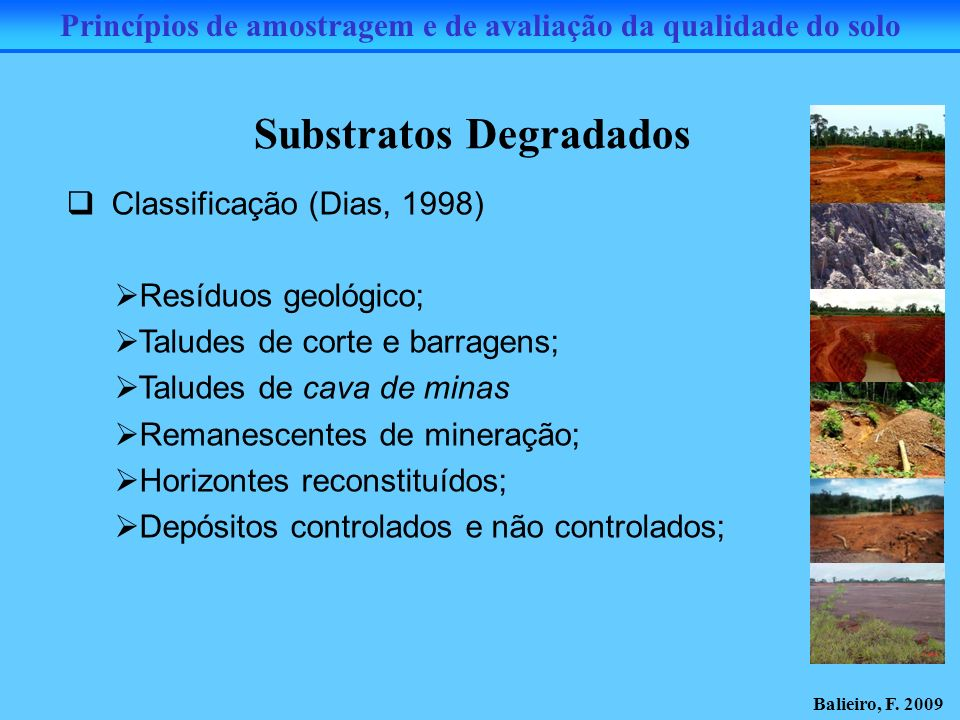Substratos Degradados