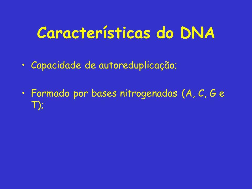 Características do DNA