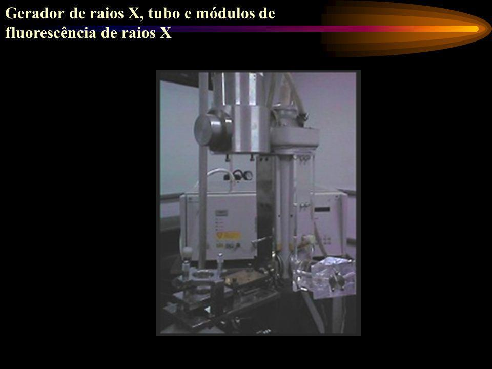 Gerador de raios X, tubo e módulos de