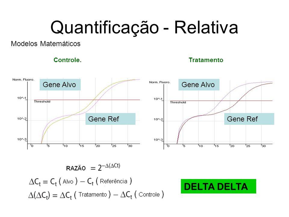 Quantificação - Relativa