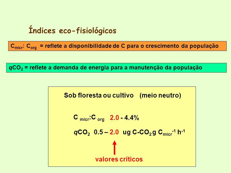Índices eco-fisiológicos