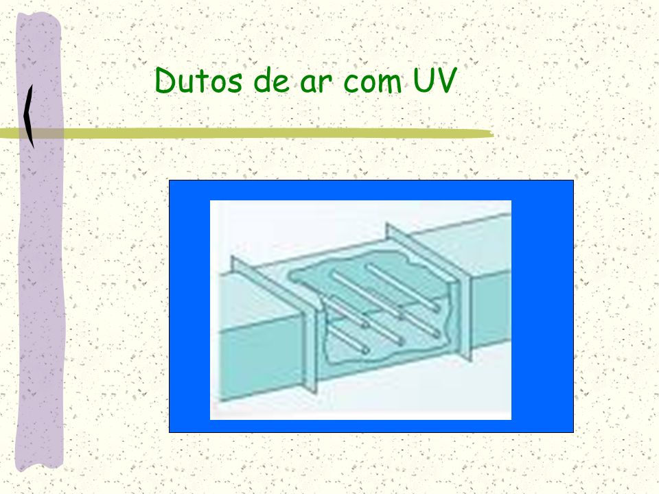 Dutos de ar com UV
