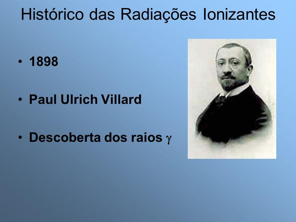 Histórico das Radiações Ionizantes