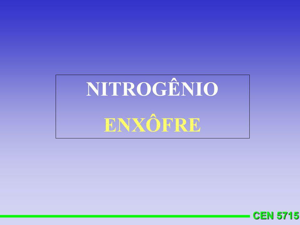 NITROGÊNIO ENXÔFRE