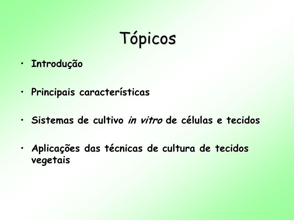 Tópicos Introdução Principais características