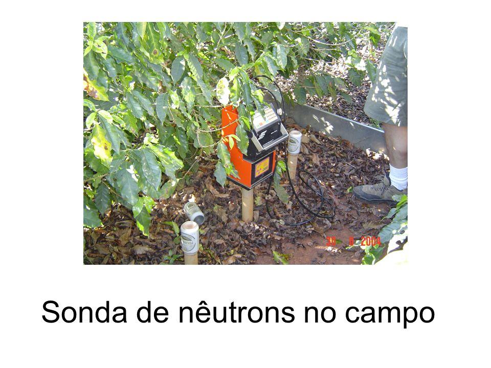 Sonda de nêutrons no campo