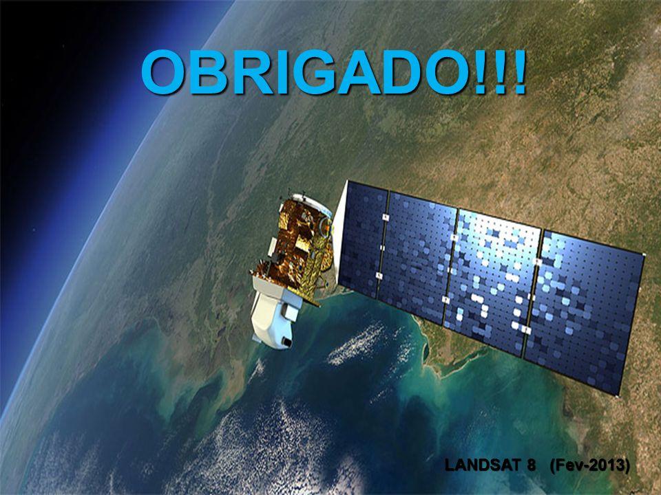 OBRIGADO!!! LANDSAT 8 (Fev-2013)
