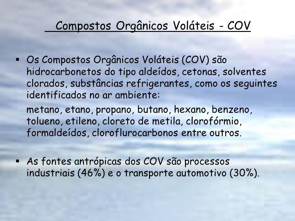 Compostos Orgânicos Voláteis - COV