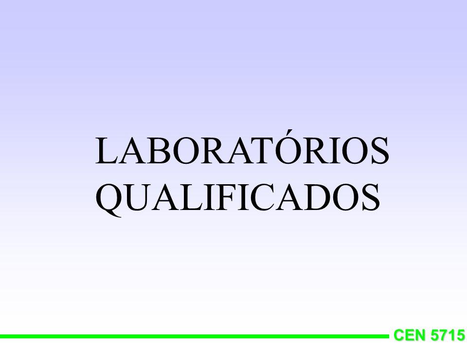 LABORATÓRIOS QUALIFICADOS