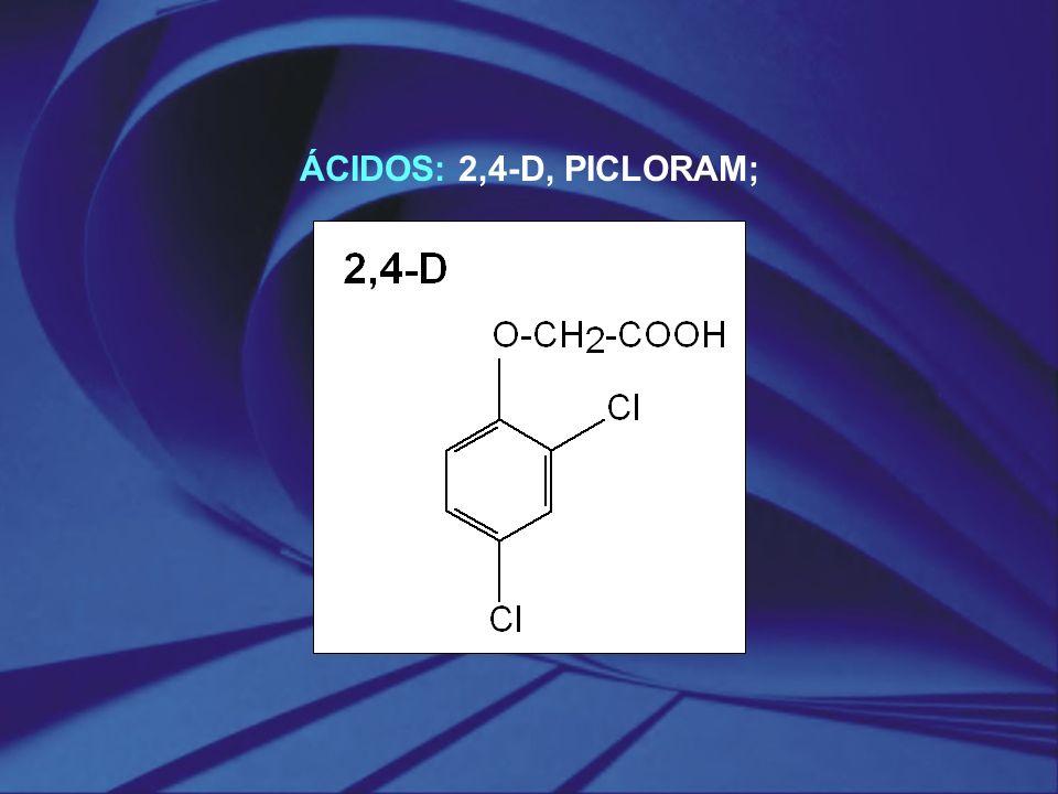 ÁCIDOS: 2,4‑D, PICLORAM;