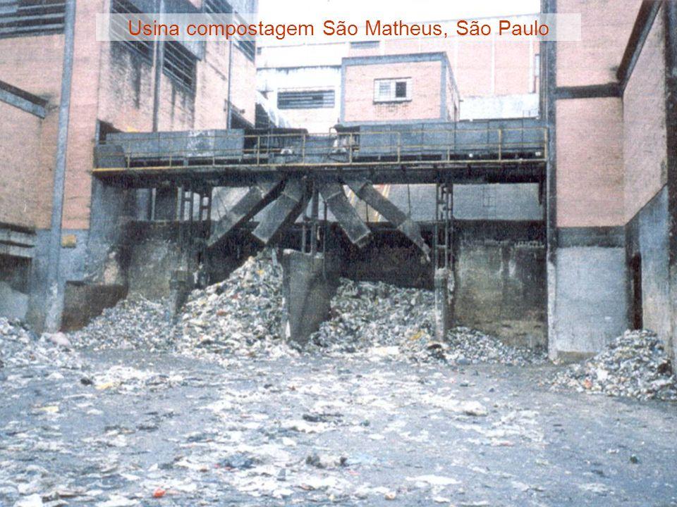 Usina compostagem São Matheus, São Paulo