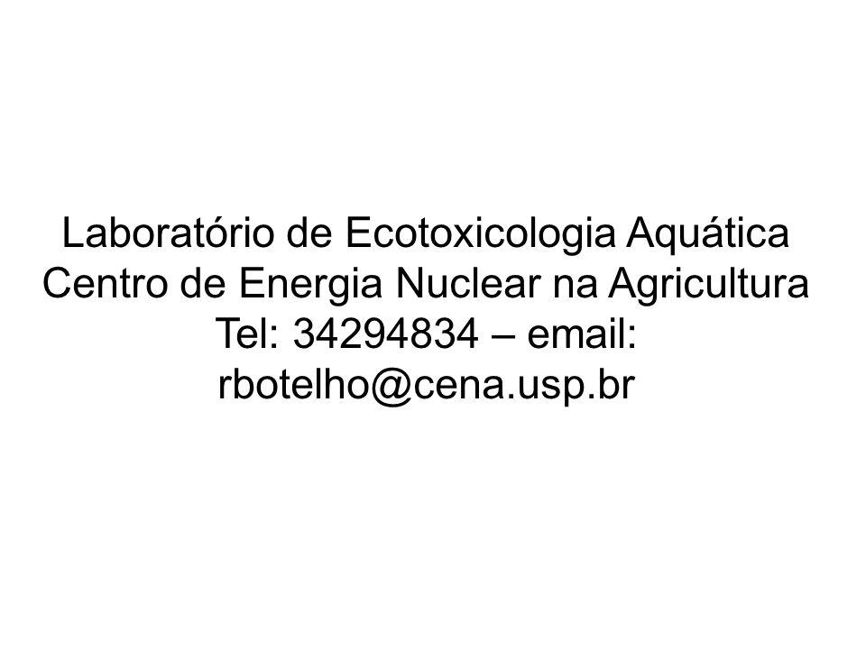 Laboratório de Ecotoxicologia Aquática