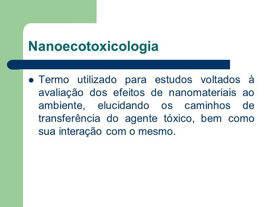 Nanoecotoxicologia