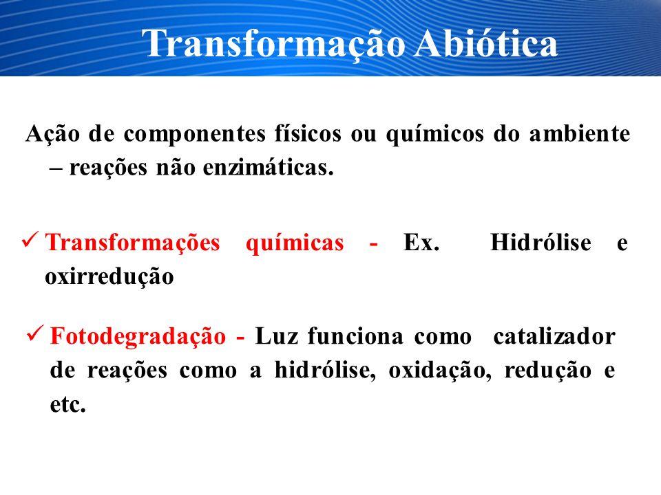 Transformação Abiótica