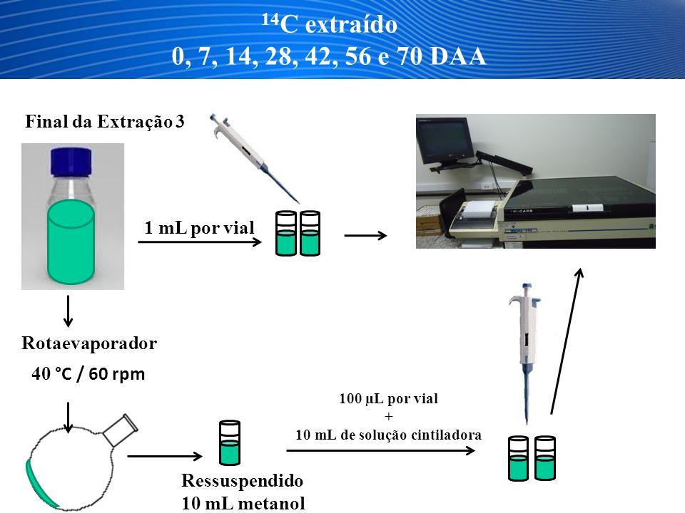 10 mL de solução cintiladora