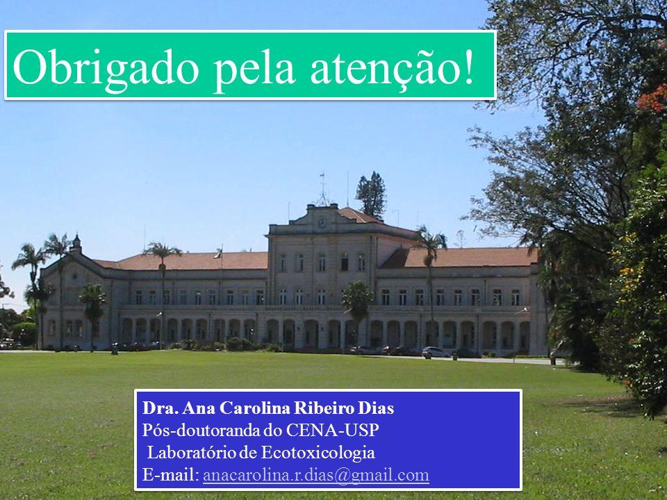 Obrigado pela atenção! Dra. Ana Carolina Ribeiro Dias