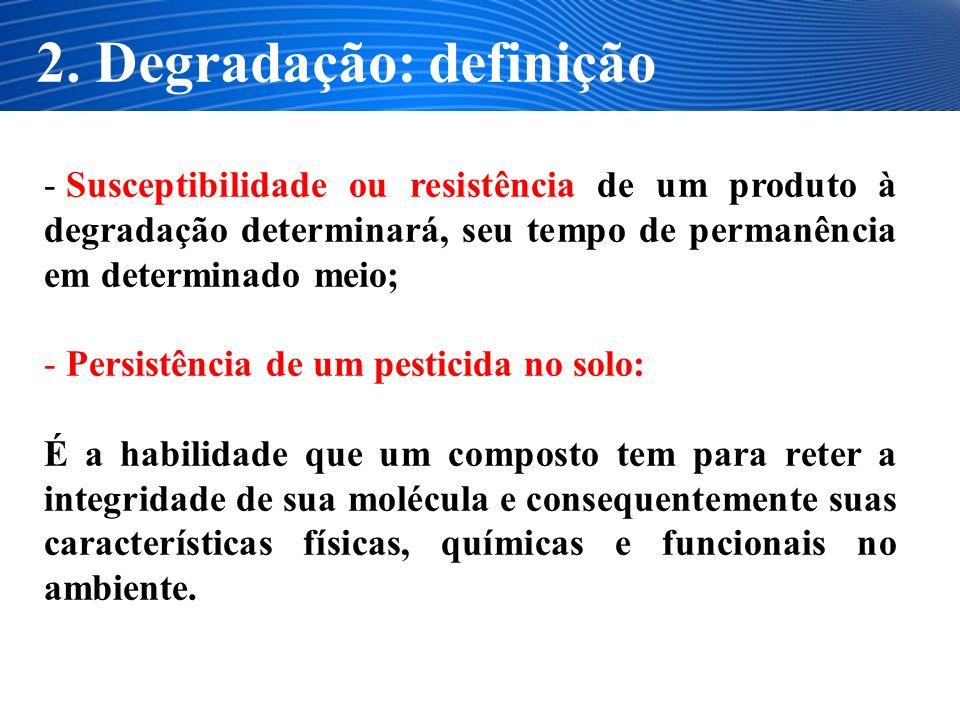 2. Degradação: definição
