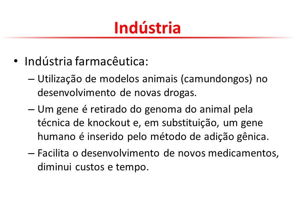 Indústria Indústria farmacêutica: