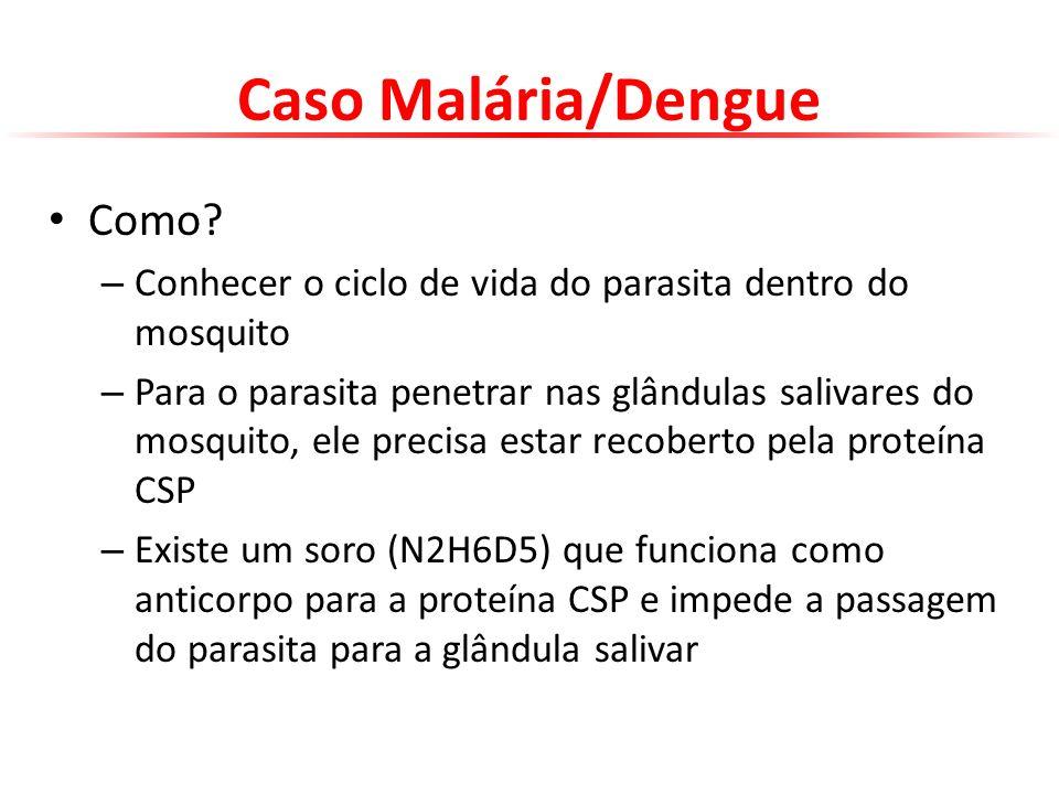 Caso Malária/Dengue Como