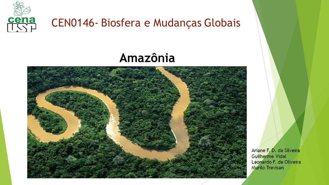 CEN0146- Biosfera e Mudanças Globais